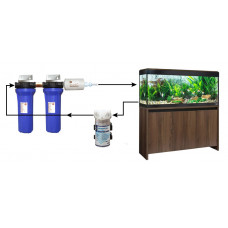 External Canister Aquarium Filter With KDF for Home