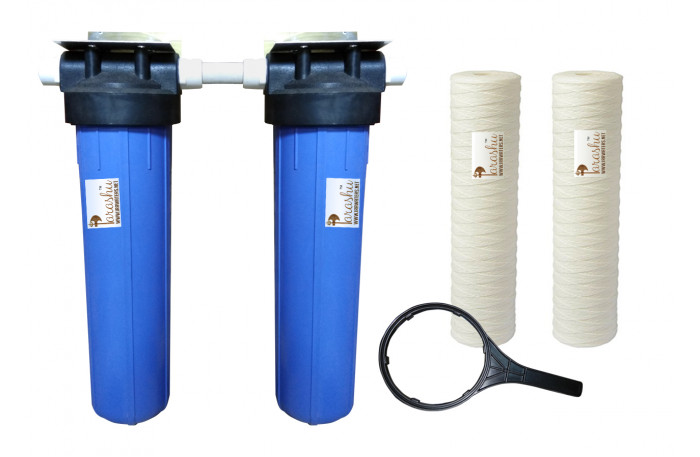 Parashu® Whole House Iron Remover Water Filter